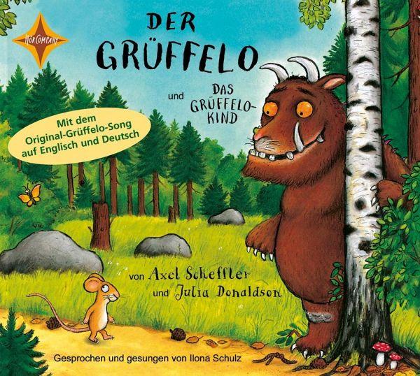 Der Grüffelo / Das Grüffelokind, 1 Audio-CD - Donaldson, Julia; Scheffler, Axel