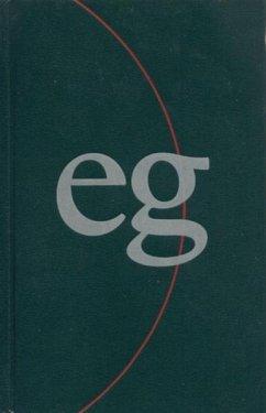 Das Evangelische Gesangbuch (Evangelisch-reformierte Kirche), Taschenausgabe, grün