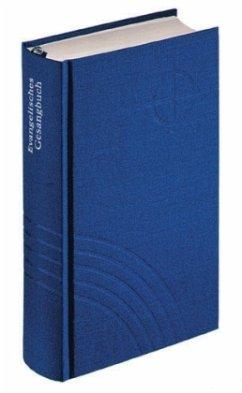 Evangelisches Gesangbuch (Hannover, Bremen, Braunschweig, Schaumburg-Lippe), Taschenformat, blau