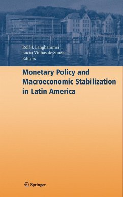 Monetary Policy and Macroeconomic Stabilization in Latin America - Langhammer, Rolf J. (ed.)