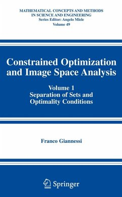 Constrained Optimization and Image Space Analysis 1 - Giannessi, Franco