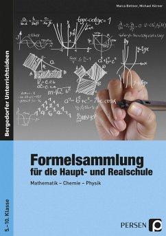 Formelsammlung für die Haupt- und Realschule - Bettner, Marco; Körner, Michael