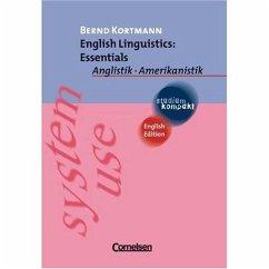 English Linguistics: Essentials - Kortmann, Bernd
