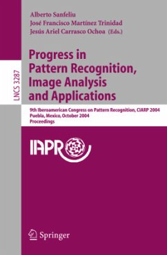 Progress in Pattern Recognition, Image Analysis and Applications - Sanfeliu, Alberto / Martínez Trinidad, José F. / Carrasco Ochoa, Jesús A. (eds.)