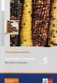 Lambacher Schweizer LS Mathematik 5. Trainingsheft für Klassenarbeiten. Neu