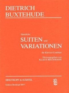 Sämtliche Suiten und Variationen, Klavier (Cembalo), praktische Ausgabe