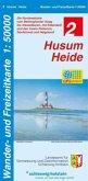 Wander- und Freizeitkarte Husum - Heide