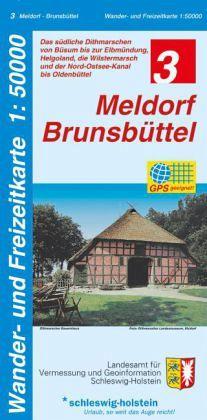 Wander- und Freizeitkarte Meldorf, Brunsbüttel