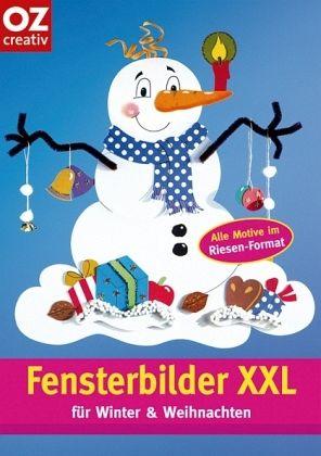 fensterbilder xxl f r winter weihnachten von gabriele. Black Bedroom Furniture Sets. Home Design Ideas