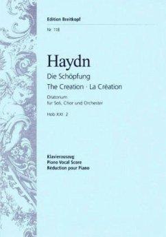 Die Schöpfung Hob.XXI:2, Klavierauszug