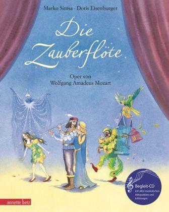 Die Zauberflöte, m. Audio-CD - Simsa, Marko