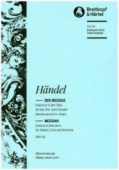Der Messias HWV 56, Klavierauszug - Händel, Georg Friedrich