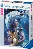 Ravensburger 15414 - Wolfsfrau, 1000 Teile Puzzle