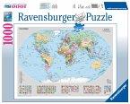 Ravensburger 15652 - Politische Weltkarte, 1000 Teile Puzzle