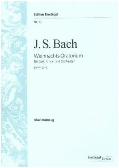 Weihnachts-Oratorium BWV 248, Klavierauszug