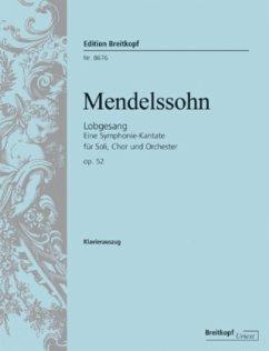 Sinfonie Nr.2 B-Dur op.52 (Lobgesang), Klavierauszug