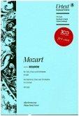 Requiem d-Moll KV 626, Klavierauszug