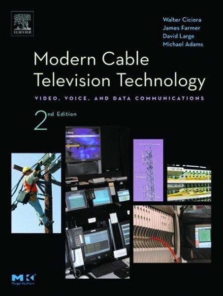 Modern Cable Television Technology Video Voice And Data