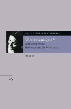 Stein, Edith / Gesamtausgabe (ESGA) Übersetzungen V, Bd.25, .5 - Stein, Edith