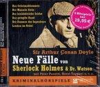 Neue Fälle von Sherlock Holmes & Dr. Watson, 5 Audio-CDs