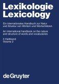 Lexikologie / Lexicology. 2. Halbband