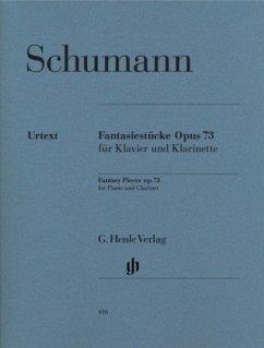 Fantasiestücke für Klavier und Klarinette op.73, Klavierpartitur u. Einzelstimme