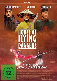 House of Flying Daggers, DVD - Diverse