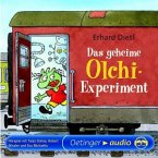 Das geheime Olchi-Experiment / Die Olchis-Kinderroman Bd.1, 2 CDs