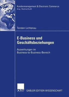 E-Business und Geschäftsbeziehungen - Lichtenau, Torsten