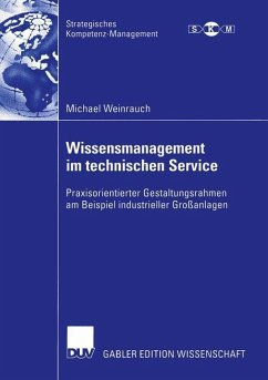 Wissensmanagement im technischen Service - Weinrauch, Michael