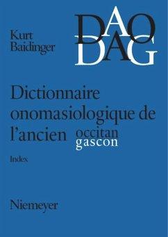 Dictionnaire onomasiologique de l'ancien occitan et de l'ancien gascon (DAO/DAG)