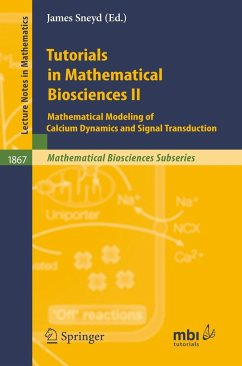 Tutorials in Mathematical Biosciences 2 - Sneyd, James (ed.)