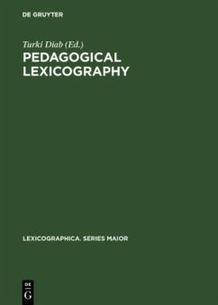 Pedagogical lexicography