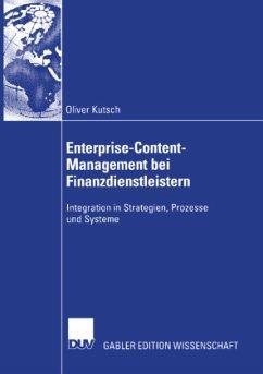 Enterprise-Content-Management bei Finanzdienstleistern