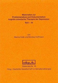 Problemanalyse und Dokumentation kognitiv orientierter Therapie - Kolb, Marina;Hoffmann, Monika