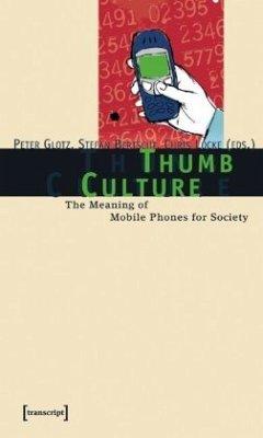 Thumb Culture - Glotz, Peter / Bertschi, Stefan