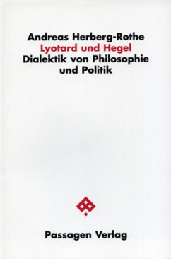 Lyotard und Hegel - Herberg-Rothe, Andreas