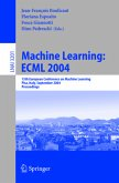 Machine Learning: ECML 2004