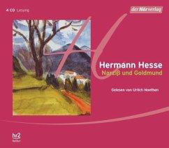Narziß und Goldmund, 4 Audio-CDs - Hesse, Hermann