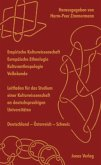 Empirische Kulturwissenschaft - Europäische Ethnologie - Kulturanthropologie - Volkskunde