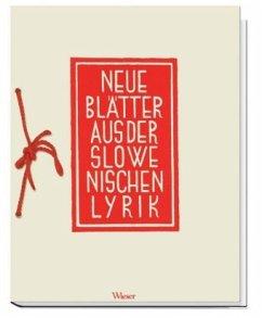 Neue Blätter aus der slowenischen Lyrik