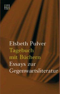 Tagebuch mit Büchern - Pulver, Elsbeth
