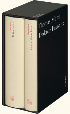 Doktor Faustus. Große kommentierte Frankfurter Ausgabe - Mann, Thomas