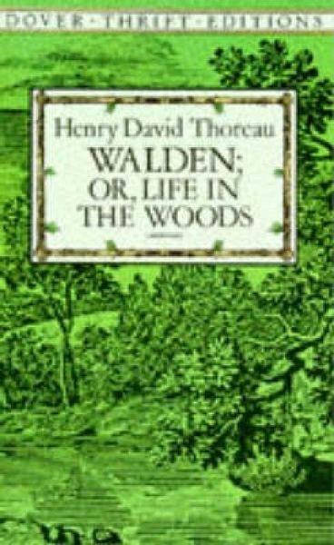 walden or life in the woods von henry david thoreau. Black Bedroom Furniture Sets. Home Design Ideas