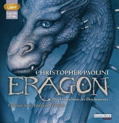Das Vermächtnis der Drachenreiter / Eragon Bd.1 (3 MP3-CDs) - Paolini, Christopher