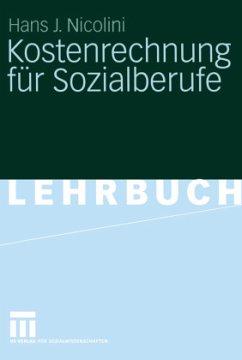 Kostenrechnung für Sozialberufe - Nicolini, Hans J.