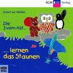 Die 3 vom Ast lernen das Staunen, 1 Audio-CD