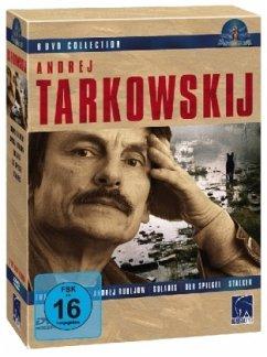 Andrej Tarkowskij DVD Collection (Solaris, Stalker, Der Spiegel, Iwans Kindheit, Andrej Rubljow), DVD-Box - Diverse
