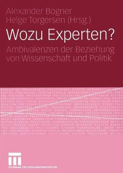 Wozu Experten? - Bogner, Alexander / Torgersen, Helge (Hgg.)