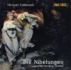 Die Nibelungen, 2 Audio-CDs - Köhlmeier, Michael